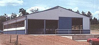 Agricultural-Building-Drive-Through-Barn