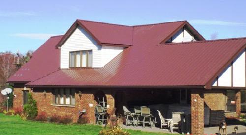 Just-Barns-Buildings-Exposed Fastener Steel Roofing
