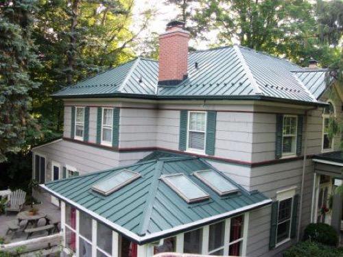 Steel Roofing Styles